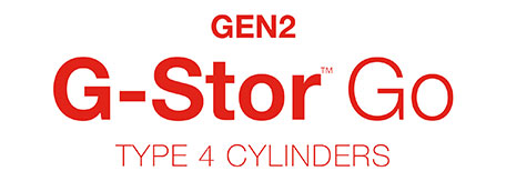 GEN2 G-Stor™ Go with tagline red