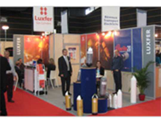 Our stand at the Annual National Congress of Firefighters