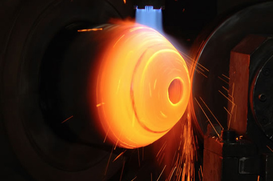 Luxfer spun steel cylinders