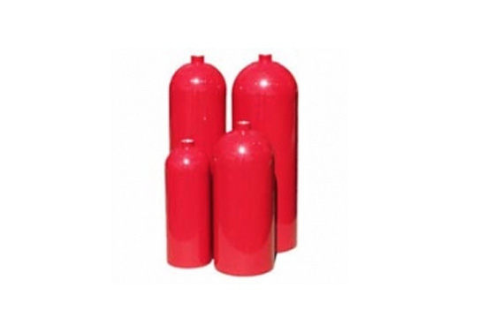 L6X fire extinguisher cylinders