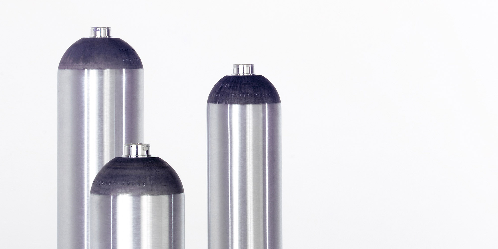 L6X® aluminum specialty gas cylinders