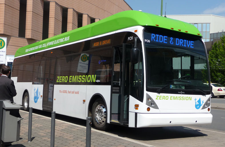 G-Stor™ H2 hydrogen bus systems