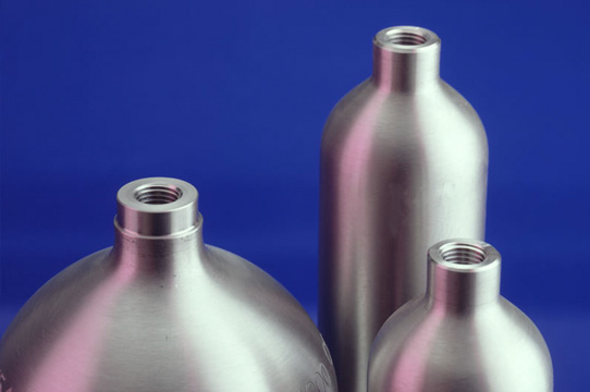 Standard DOT 1,800-psi cylinder designs